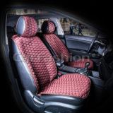 Накидки на передние сиденья CARBON (CarFashion)